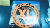 D'ADDARIO Strings EXL110 Reg Light